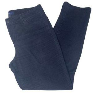 Talbots Heritage Black High Rise Corduroy Pants